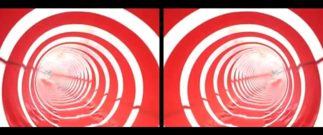 Slideshow 2012  still from a stereoscopic video.12 minutes